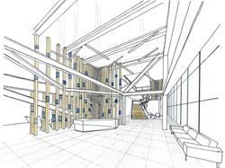 Lobby Preliminary Sketch