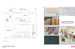 Proposed Space Plan & Finishes