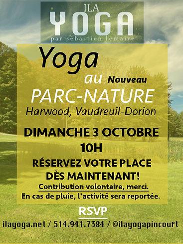 Ila Yoga Yoga au Parc