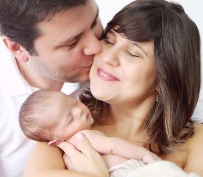 O casamento e a chegada do primeiro filho