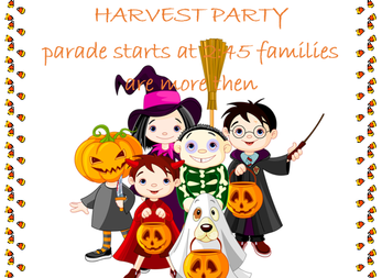 Annual Harvest Party