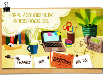 Happy Administrative Professional's Day