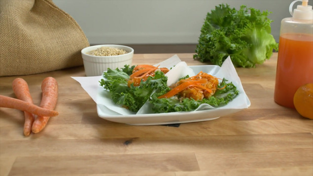 Tangerine Chicken Wraps.mp4
