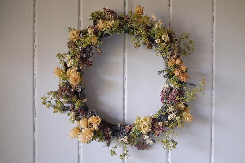 Dried Indoor Wreaths