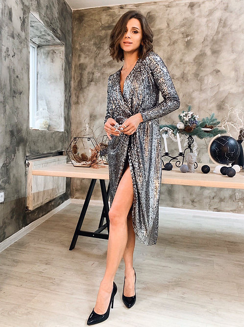 Платье Пайетка