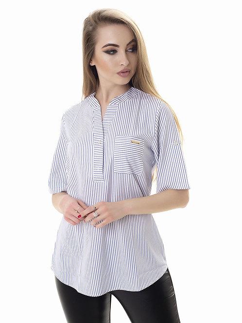 """Женская летняя блуза с коротким рукавом. Ткань """"софт""""."""