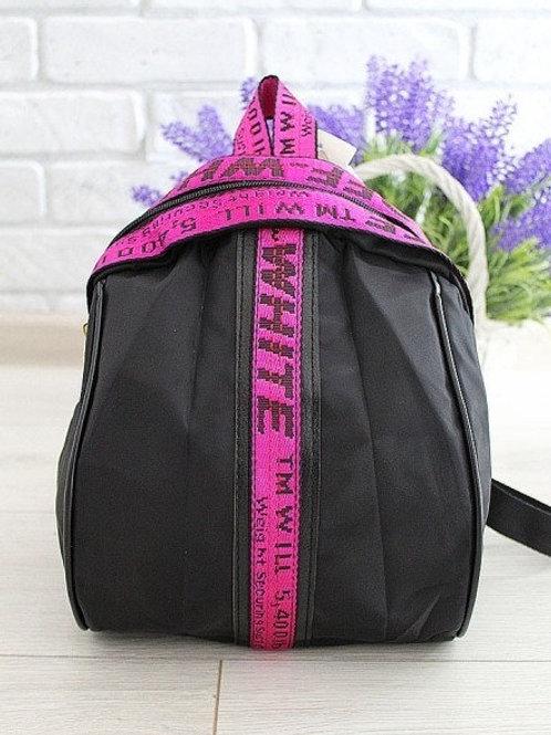 Рюкзак- плащевка с  вставками
