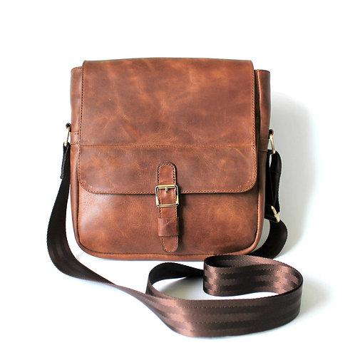 """Мужская сумка """"LA"""" из натуральной кожи"""
