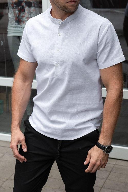 Мужская рубашка c коротким рукавом