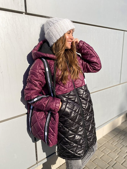 Куртка с сумкой