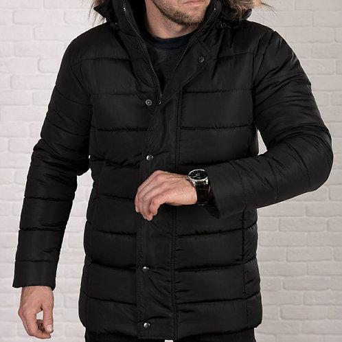 Мужская куртка с мехом