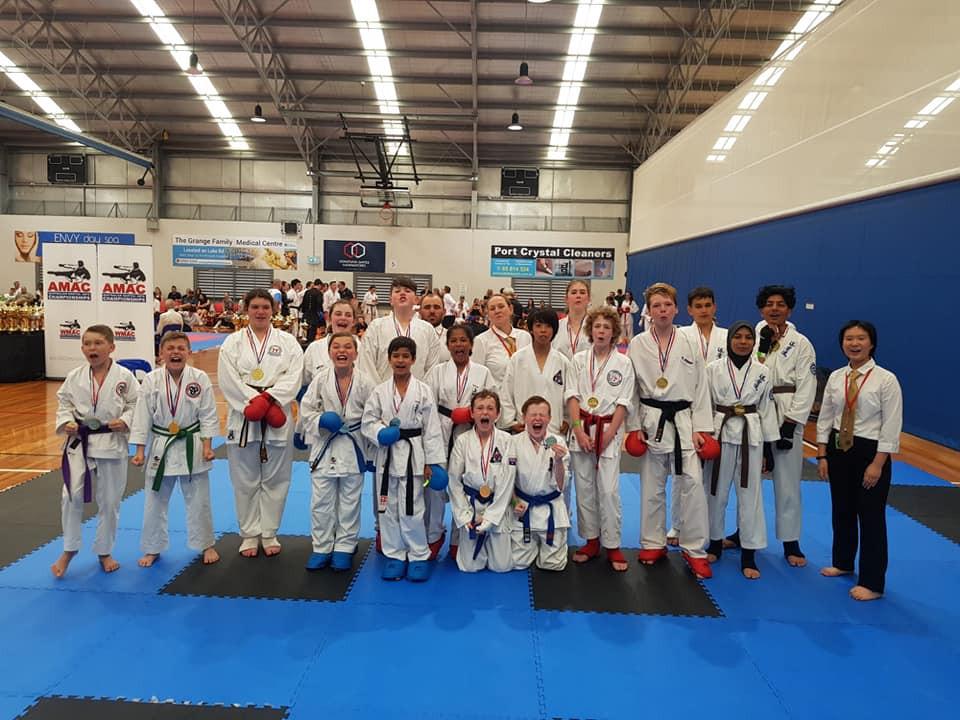 2018 Australian Titles AMAC