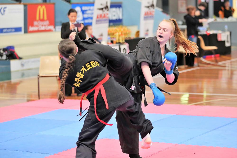 2017 Sydney Junior Games & All Australia Karate Championships