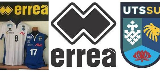 ERREA SPORT AND UTSSU VOLLEYBALL ARE PLEASED TO ANNOUNCE THEIR NEW PARTNERSHIPS