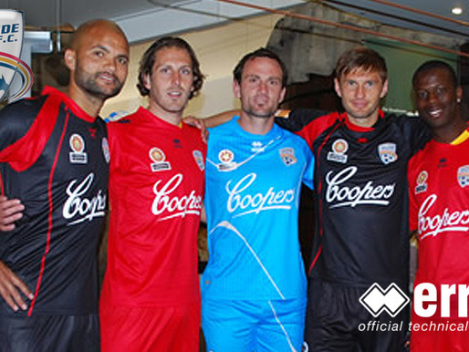 Adelaide United unveiled its new strip