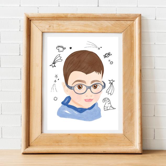 Custom Child Portrait