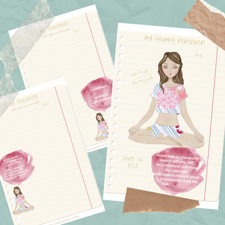 Mantras, Promps and Pages for Journaling
