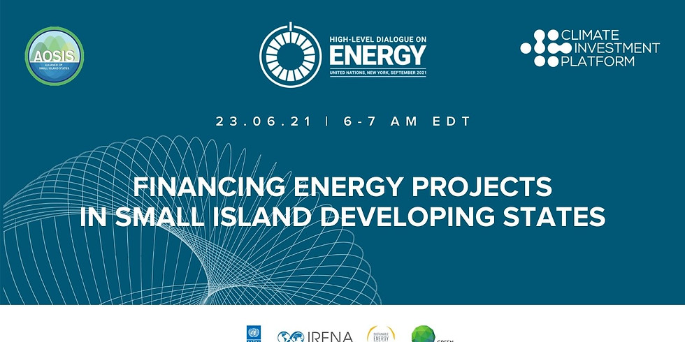 Financing Energy Projects in Small Island Developing States