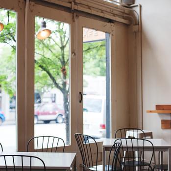 Cafe, PDX, 2019