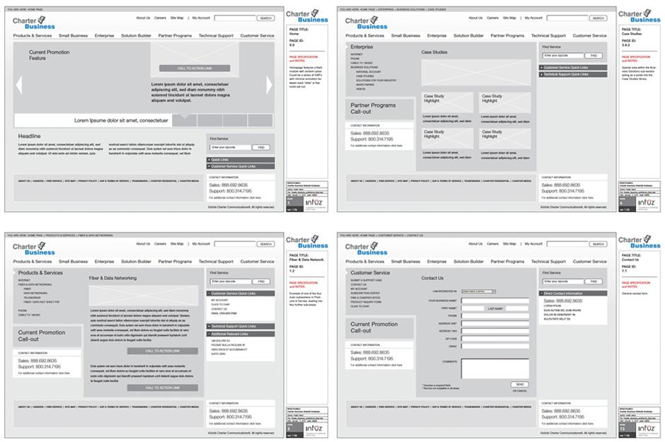 CharterBiz_wireframe_samples