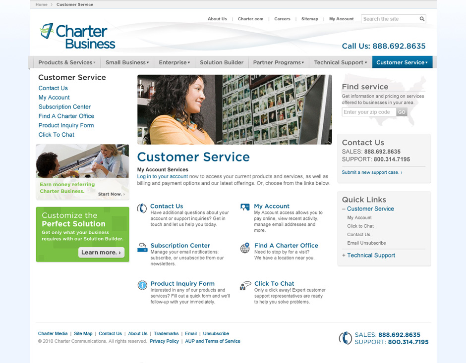 CharterBiz_customer_Service