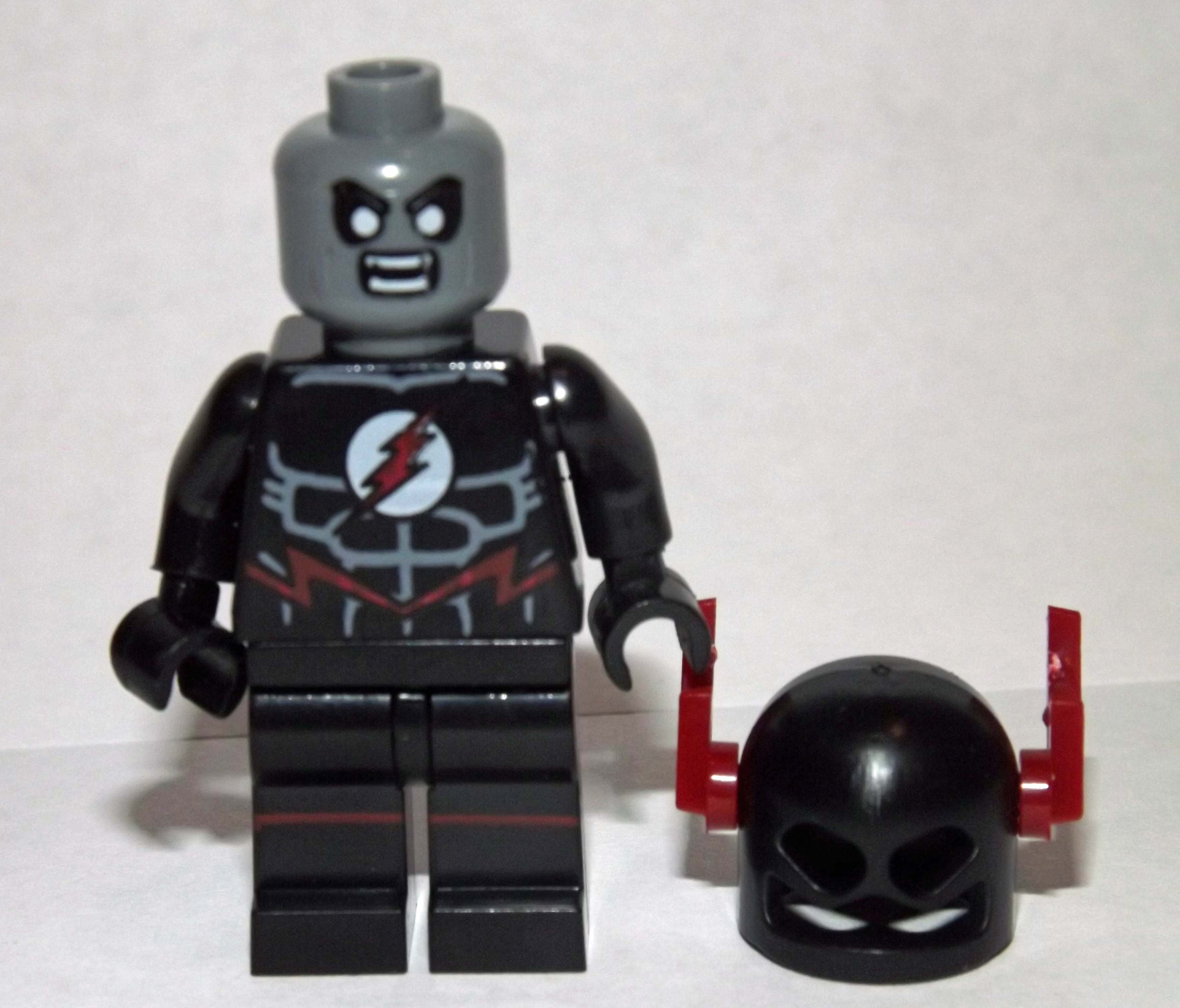 Evil Black Flash Minifigure Minifigureoutlet