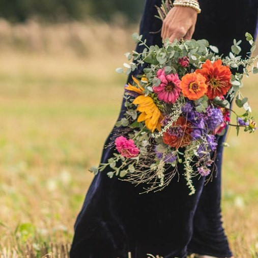 Bright autumn bouquet