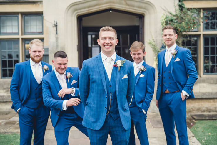 Michael and his groomsment