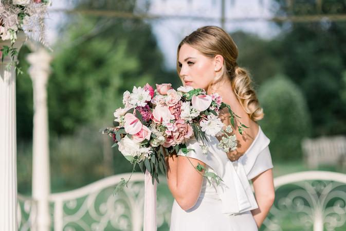 Contempory bridal bouquet