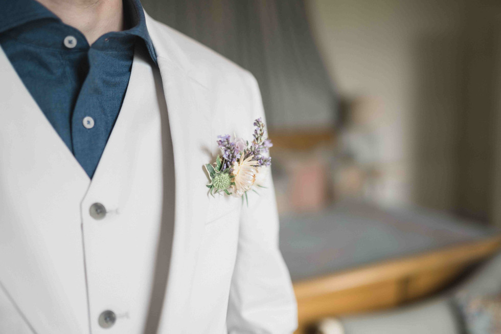 Modern groom's pocketsqaure
