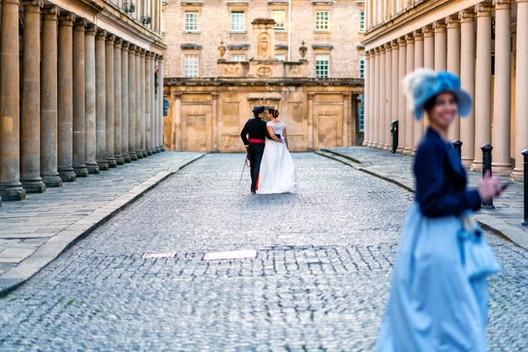 Jane Austen inspired wedding