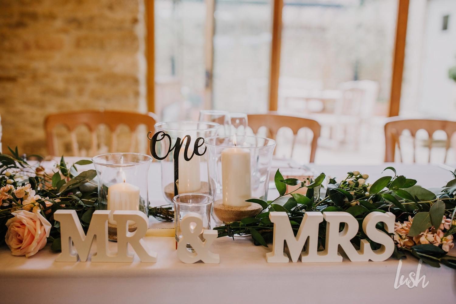 Mr and Mrs Top Table