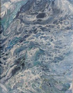 Marbled Waters Acrylic 7'x9' 2018