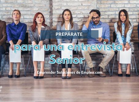 Prepárate para una entrevista Senior