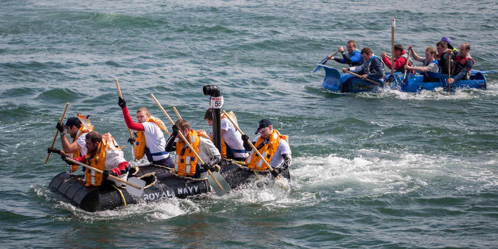 PDI - Raft Race by Nigel Bell ( 9 marks)