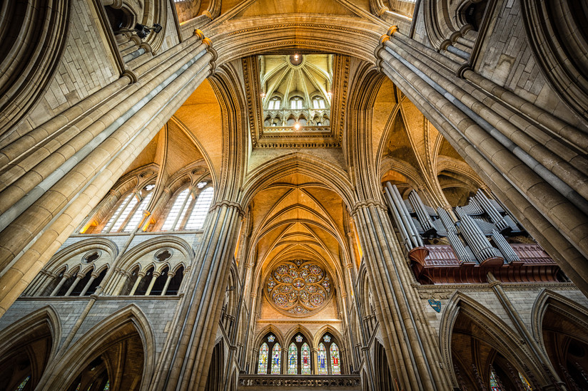 PDI - Truro Cathederal by Nigel Bell (14 marks) - Starred