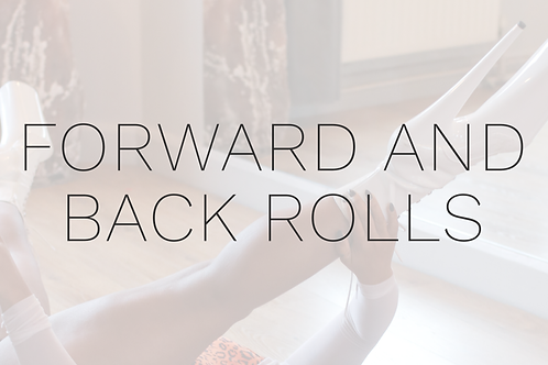 FORWARD AND BACK ROLLS