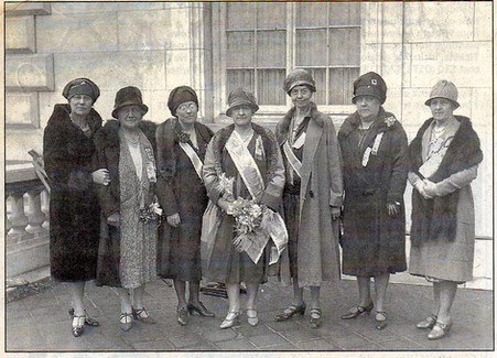 Walter Hines Page Chapter members in 1928