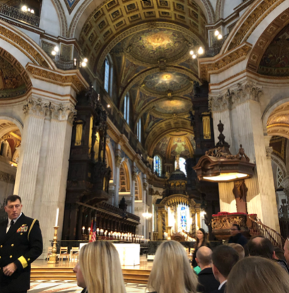 Thanksgiving Day Service at St Paul's Cathedral