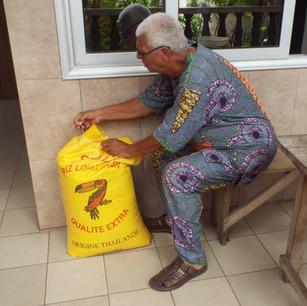 Donated Rice