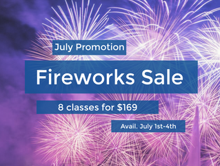 Fourth of July Promotion!