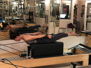 Daily Move: Pulling Straps on the Reformer