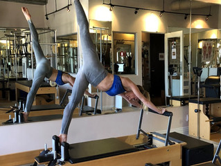 Daily Move: Arabesque on the Reformer