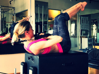 Daily Move: Backstroke on the Reformer