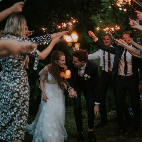 Sparklers and Special Occasions