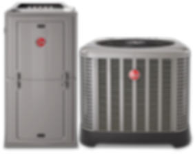 rheem air conditioner ac furnace heating and coolig st. louis