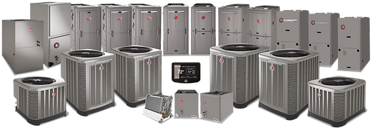 rheem air conditioner furnace hvac heating and cooling st. louis