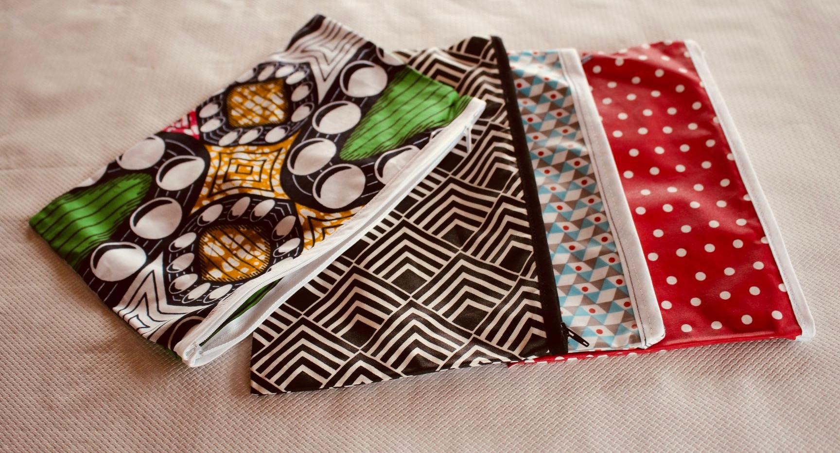 Pochette tissu - Anette L.D