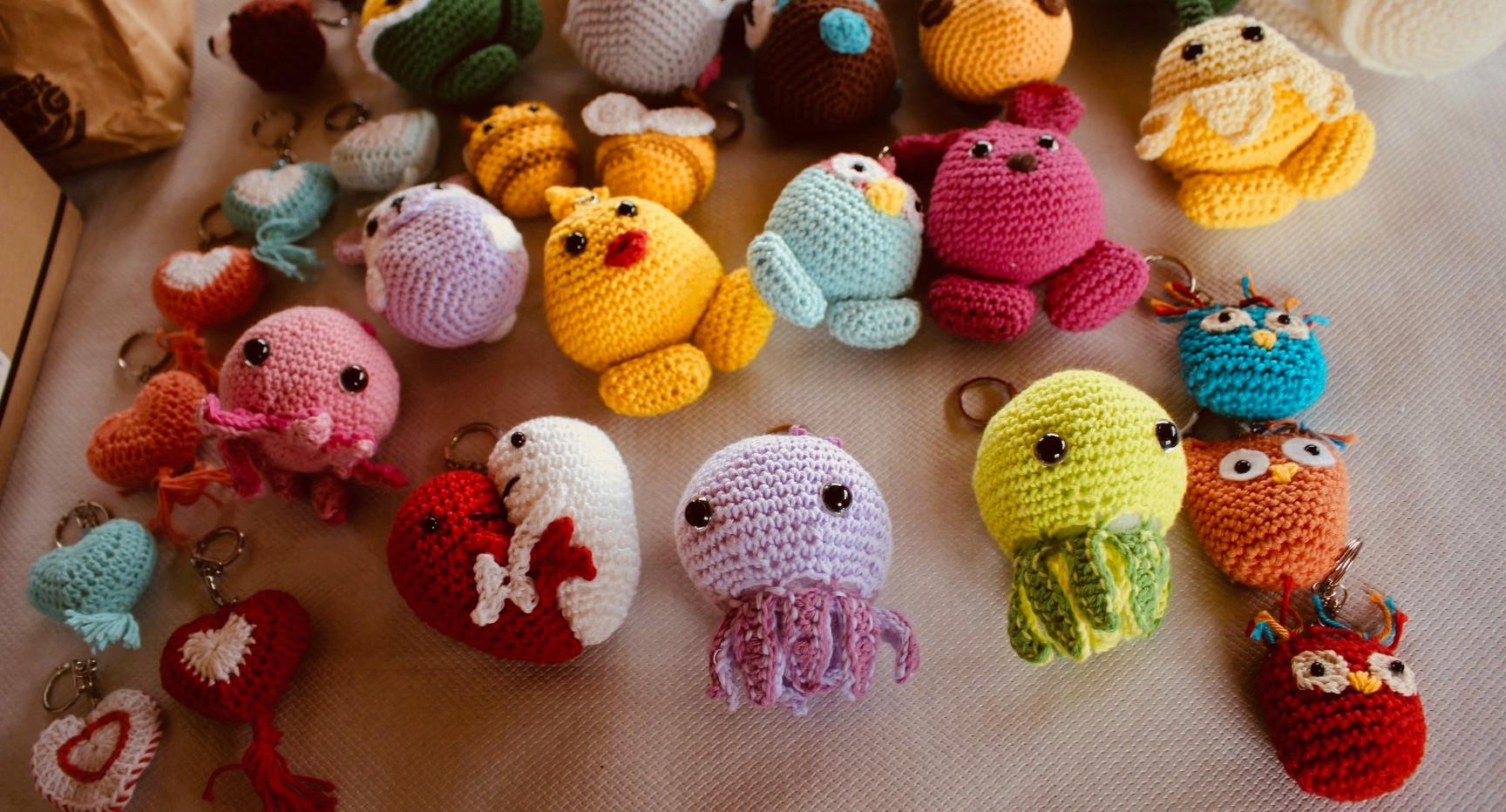 Porte-clé crochet - Natachat