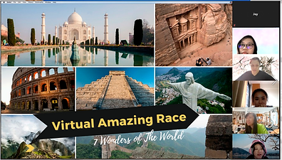 virtual amazing race singapore online teambuilding